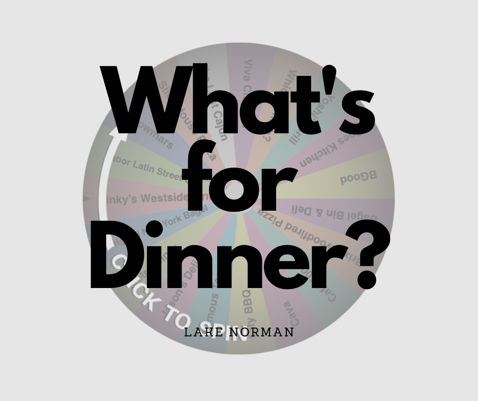LKN Dinner Decision Wheel